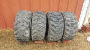 Skid Steer Tires Set of 4 for Sale in Copan, OK