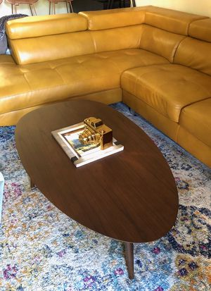Brand new Mid century modern walnut coffee table for Sale in San Diego, CA