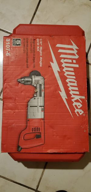 Milwaukee right angle drill for Sale in Los Angeles, CA
