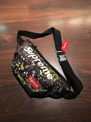 Supreme Fanny Pack Bag *Spatter Print for Sale in Los Angeles, CA