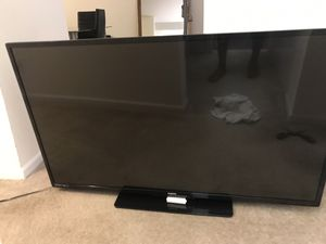 55 inch flat tv for Sale in Silver Spring, MD