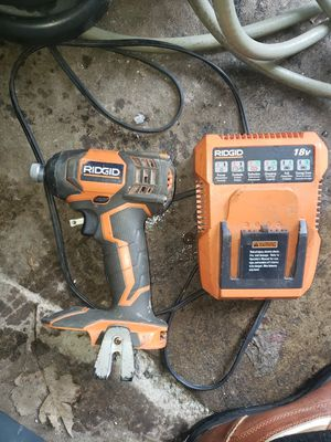 Rigid charger & drill for Sale in Bedford Heights, OH