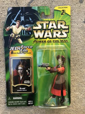 Star Wars Power Of The Jedi Sabe Action Figure | Collection 2 for Sale in Los Angeles, CA