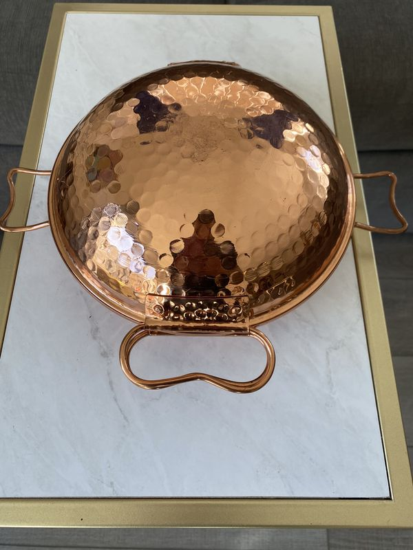 Cobraz Copper Steam Pot