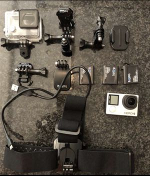 GoPro with accessories for Sale in Houston, TX