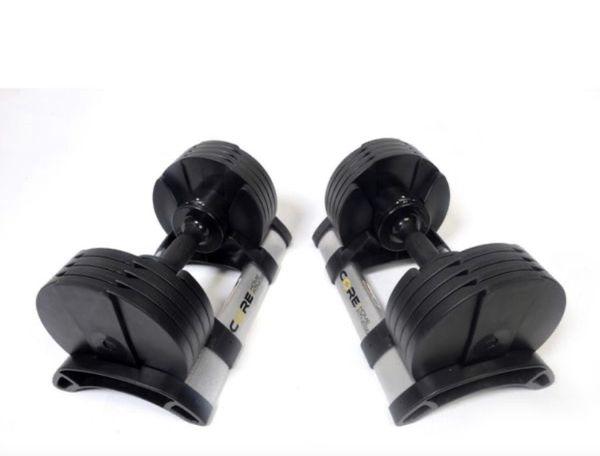 Core Home Fitness Adjustable Dumbbells