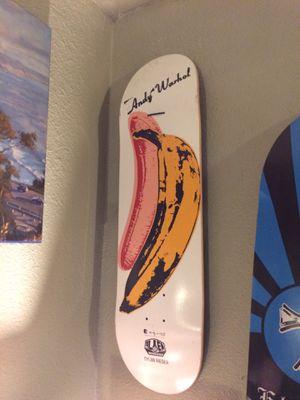 Andy Warhol skateboard deck(Collector) for Sale in Phoenix, AZ