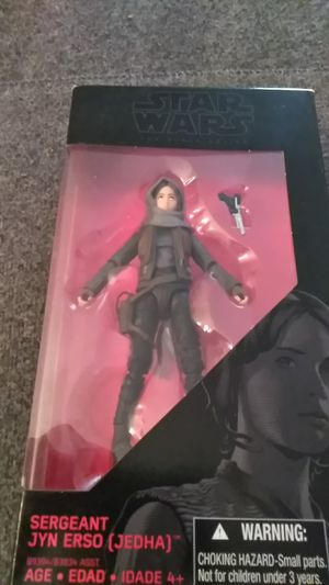 Sergeant Jyn Erso action figure for Sale in Shelton, CT