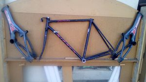 Three specialized bike frames,1road bike,2 16 inch frames 75 for all. for Sale in Fresno, CA