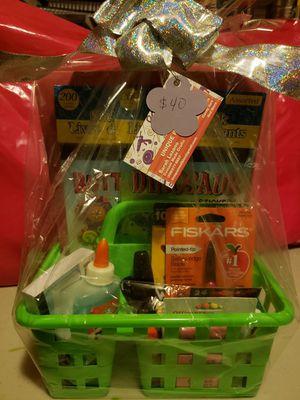 School Art supplies Gift Basket for Sale in Modesto, CA
