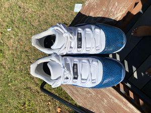 Air Jordan 11 Retro lowle/ blue snake skin for Sale in Chesapeake, VA