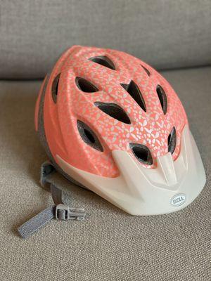 Pink bike helmet - used twice for Sale in Washington, DC