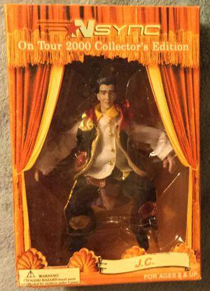 Vintage *NSYNC J.C. Action Figure - Near Mint Condition - Original Production Run for Sale in Tamarac, FL