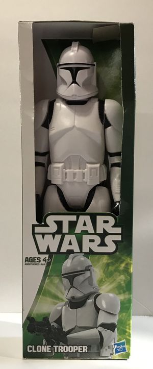 "Star Wars 12"" Clone Trooper Action Figure 2012 Hasbro for Sale in Fresno, CA"