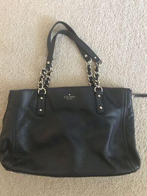 Kate Spade Black Leather Satchel for Sale in Arlington, VA