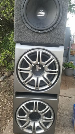 "3 12"" Polk audio for Sale in Austin, TX"