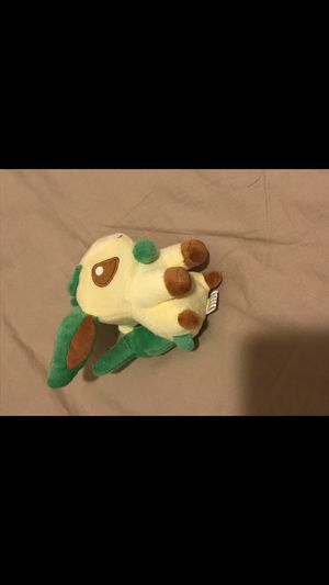 Small Leafeon Plushie for Sale in Frisco, TX