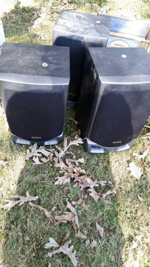 Stereo system speakers for Sale in Saint Louis, MO