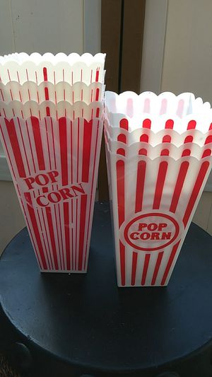 Popcorn containers for Sale in Thomasville, NC