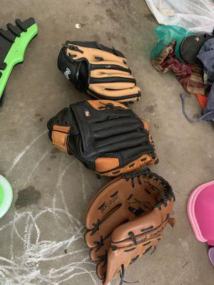 Kids baseball gloves for Sale in Stockbridge, GA