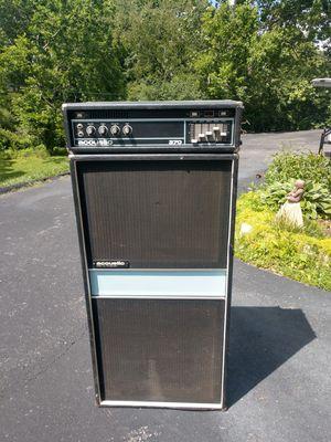 Acoustic 370 bass amp &speaker for Sale in Lexington, KY