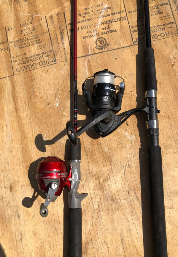 Two fish rod