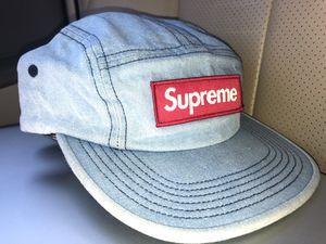 Supreme box logo camp hat for Sale in Portland, OR