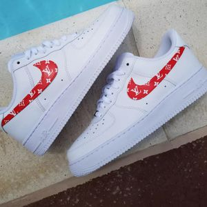 Louis Vuitton Nike Air Force 1 shoe for Sale in Los Angeles, CA