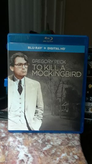 To Kill A Mockingbird , Blu-Ray, Gregory Peck for Sale in San Marino, CA