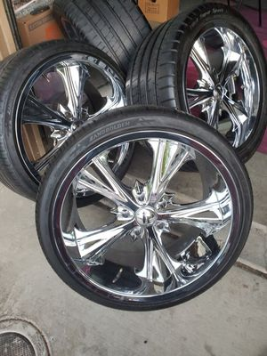 5 Lug rims size 20 for Sale in Redwood City, CA