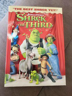 SHREK THE THIRD DVD FULLSCREEN for Sale in Barnegat Township,  NJ