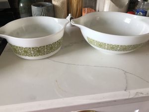2 Pyrex Autumn floral large size for Sale in Los Angeles, CA