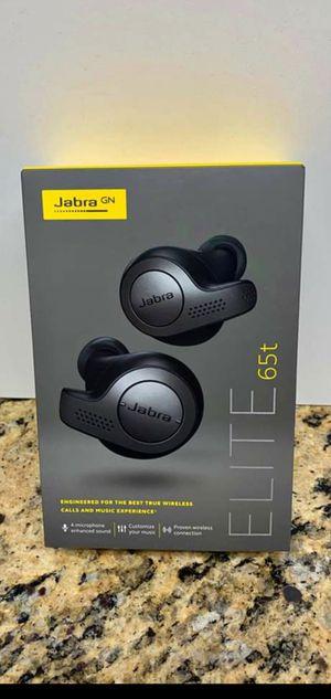 Jabra Elite 65t Titanium Black for Sale in Detroit, MI