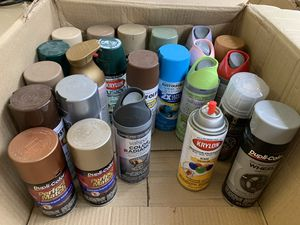 Spray paints for Sale in Raleigh, NC