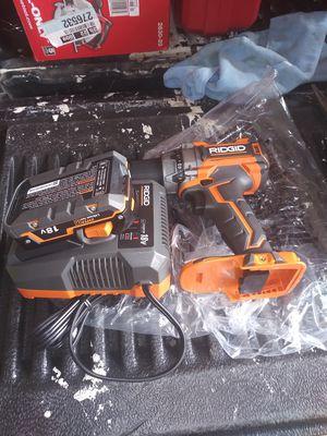 Ridgid BRUSHLESS 18v Compact Drill/Driver kit brand new for Sale in Phoenix, AZ