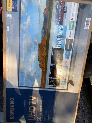 50 Inch • Ultra Hd 6Series Samsung Smart Tv✅ for Sale in Orlando, FL
