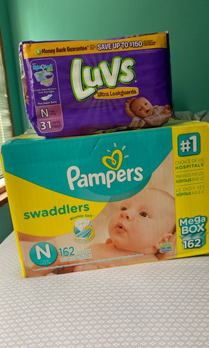 193 Newborn Diapers for Sale in Indianapolis, IN