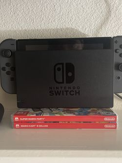 Nintendo Switch With Games!! for Sale in Hillsboro,  OR