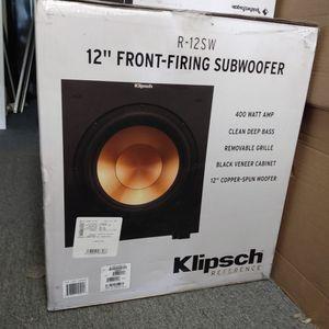 "Klipsch 12"" Front Firing Subwoofer for Sale in El Cajon, CA"