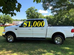 $1,000 URGENT Selling my 2002 Ford F-150 Runs and drives great! Clean title for Sale in Arlington, VA