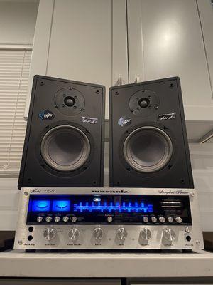 MARANTZ Vintage Receiver & Very Rare MARANTZ M2 Speakers for Sale in West Covina, CA
