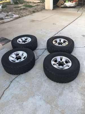 Toyota Tacoma Rims and Tires for Sale in Los Angeles, CA