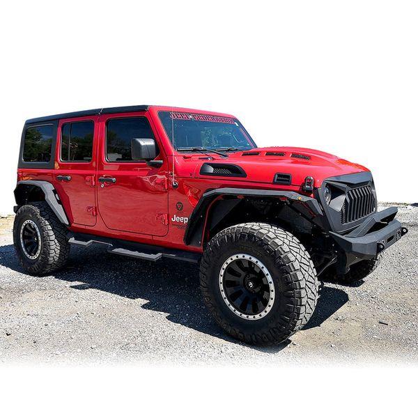 Jeep Wrangler Front SNDT Bumper (2018-2020)