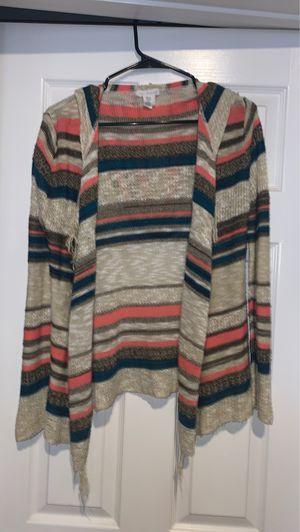 Beige Striped Cardigan/Sweater Size XS for Sale in Riverside, CA