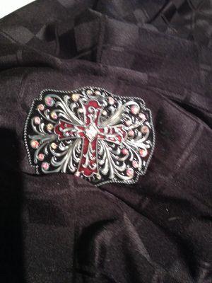 Crystal belt buckle for Sale in Scottsdale, AZ