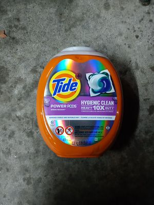 Tide power pods hygienic clean for Sale in Sacramento, CA