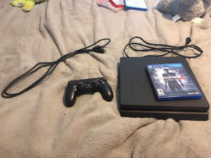 Ps4 Slim,Power Cable, HDMI Cable,Ps4 Controller,Uncharted4 Combo!! for Sale in Miami, FL
