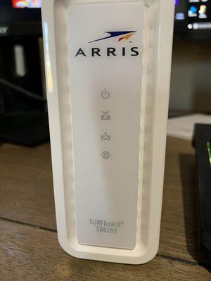 Arris modem SB6183 for Sale in Peoria, AZ