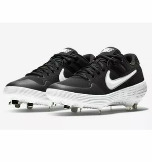 NIKE Alpha Huarache Elite 2 Baseball Cleat Black White AJ6873-001 Men New without box for Sale in French Creek, WV