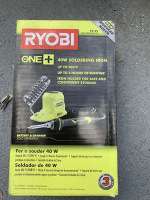 Soldering iron 40w 18 v tool only for Sale in Lakeland, FL